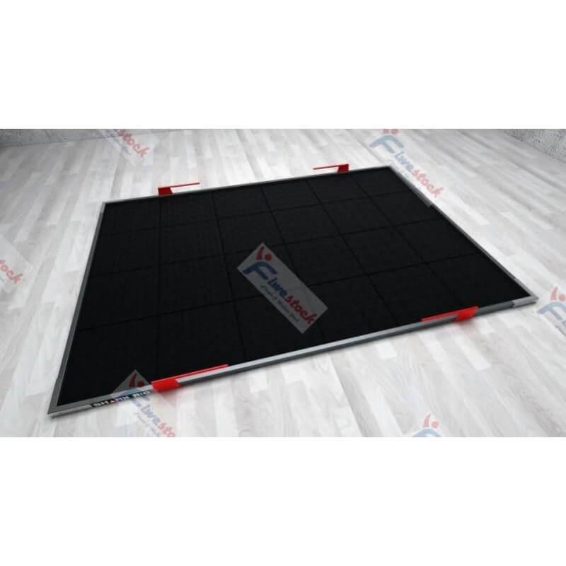 Pedana Stacco in Gomma 4 cm Pavimento Antiurto Palestre