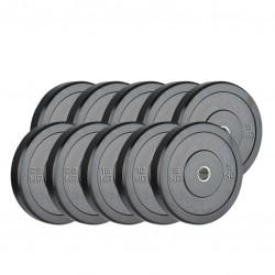 Set Bumpers Palestra 100 kg